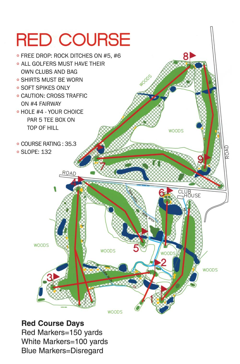 red-course-layout